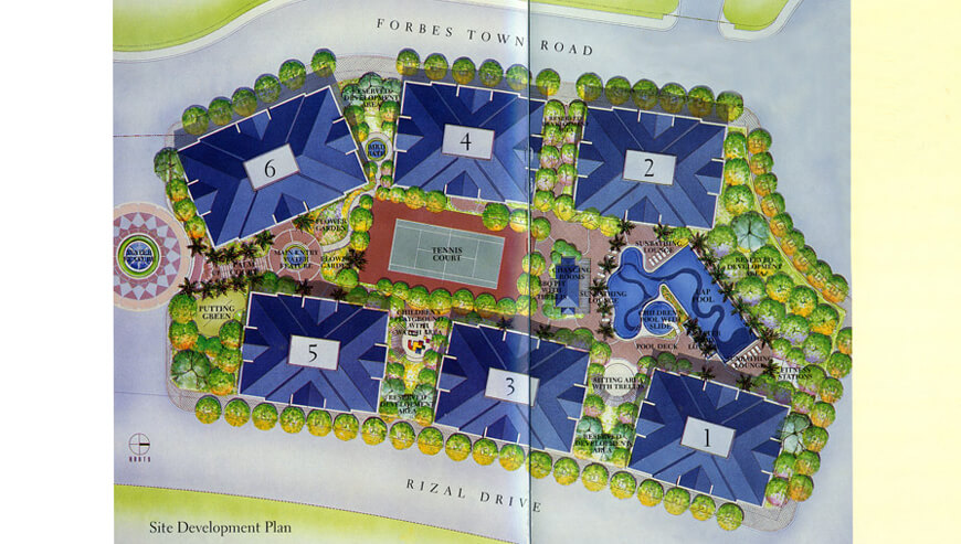 map of forbeswood heights condominium in taguig